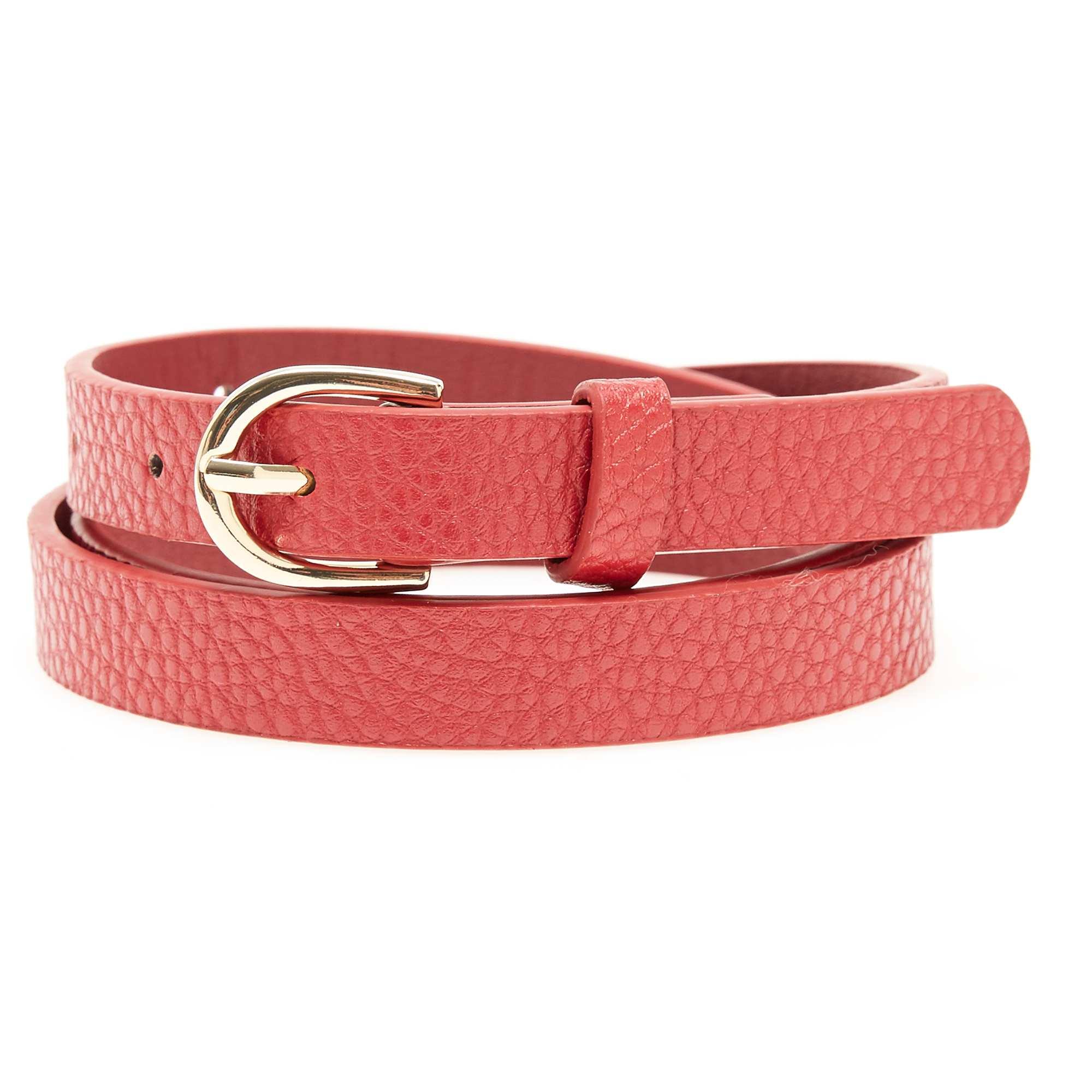 7cef2538b897 Fine ceinture Femme - rouge - Kiabi - 3,00€