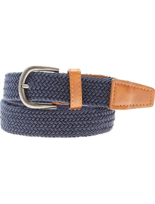 Fine ceinture tressée                                                                             bleu marine Garçon