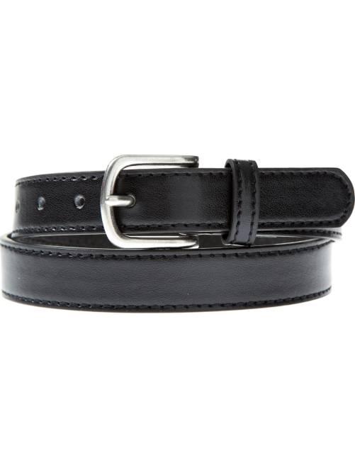Fine ceinture unie                             noir
