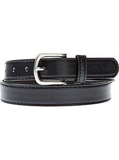 Accessoire - Fine ceinture unie - Kiabi