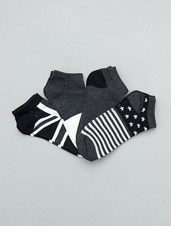 3bd13a8a72f7b8 Soldes chaussettes fille, achat de socquettes pour filles Vêtements ...