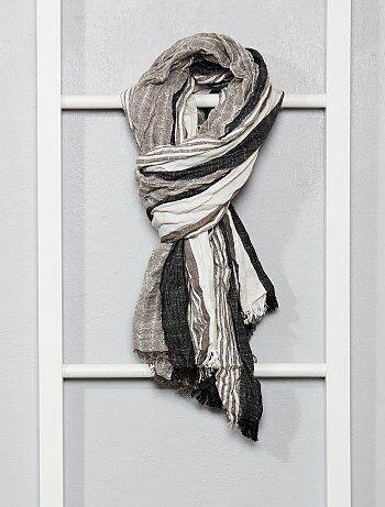 6f1fd3778b504 Echarpe, chèche, foulard Vêtements homme | taille tu | Kiabi