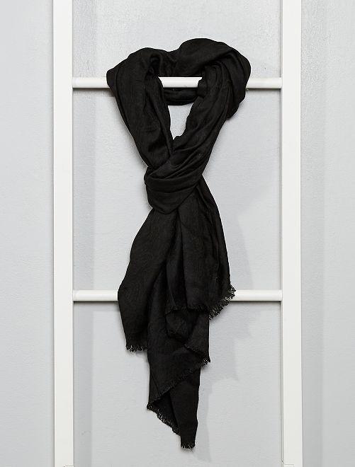 Foulard effet soie                                         noir