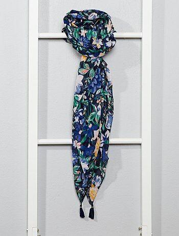 sélectionner pour plus récent 100% d'origine Bons prix Foulard, chèche Vêtements femme | bleu | Kiabi