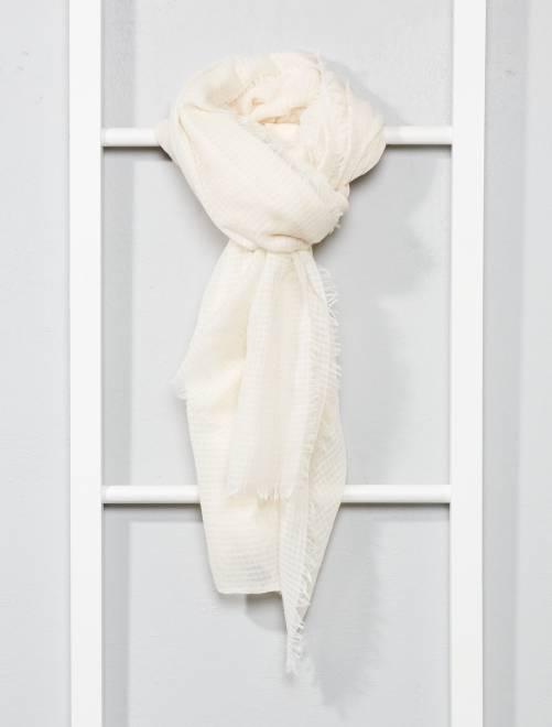 Foulard fluide                                                                             beige Femme