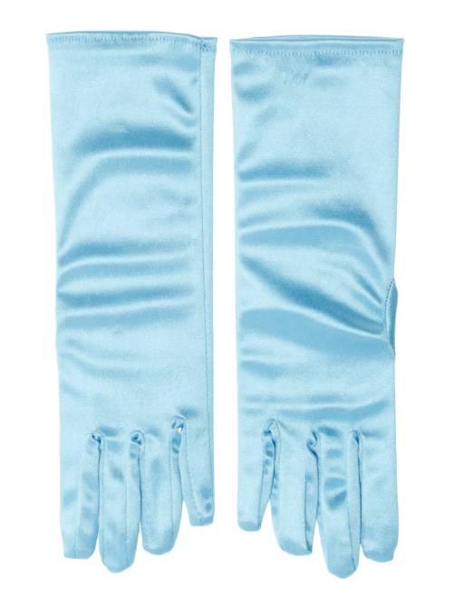 Gants de princesse des glaces                             bleu