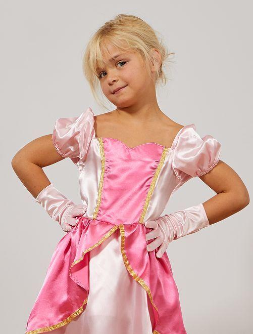 Gants de princesse des glaces                     rose