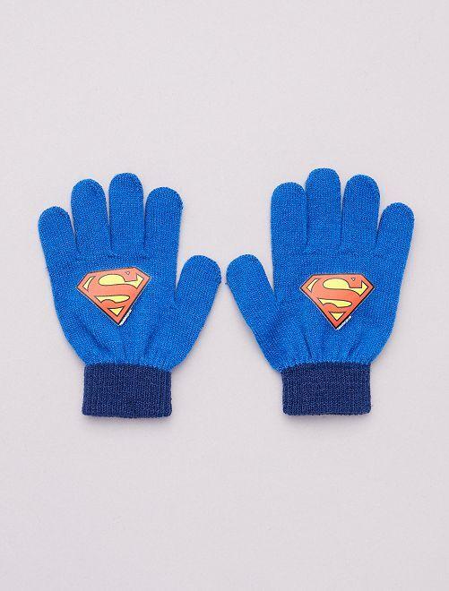 Gants 'Superman'                                         bleu
