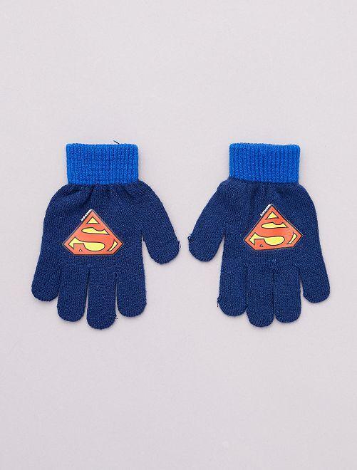 Gants 'Superman'                                         marine