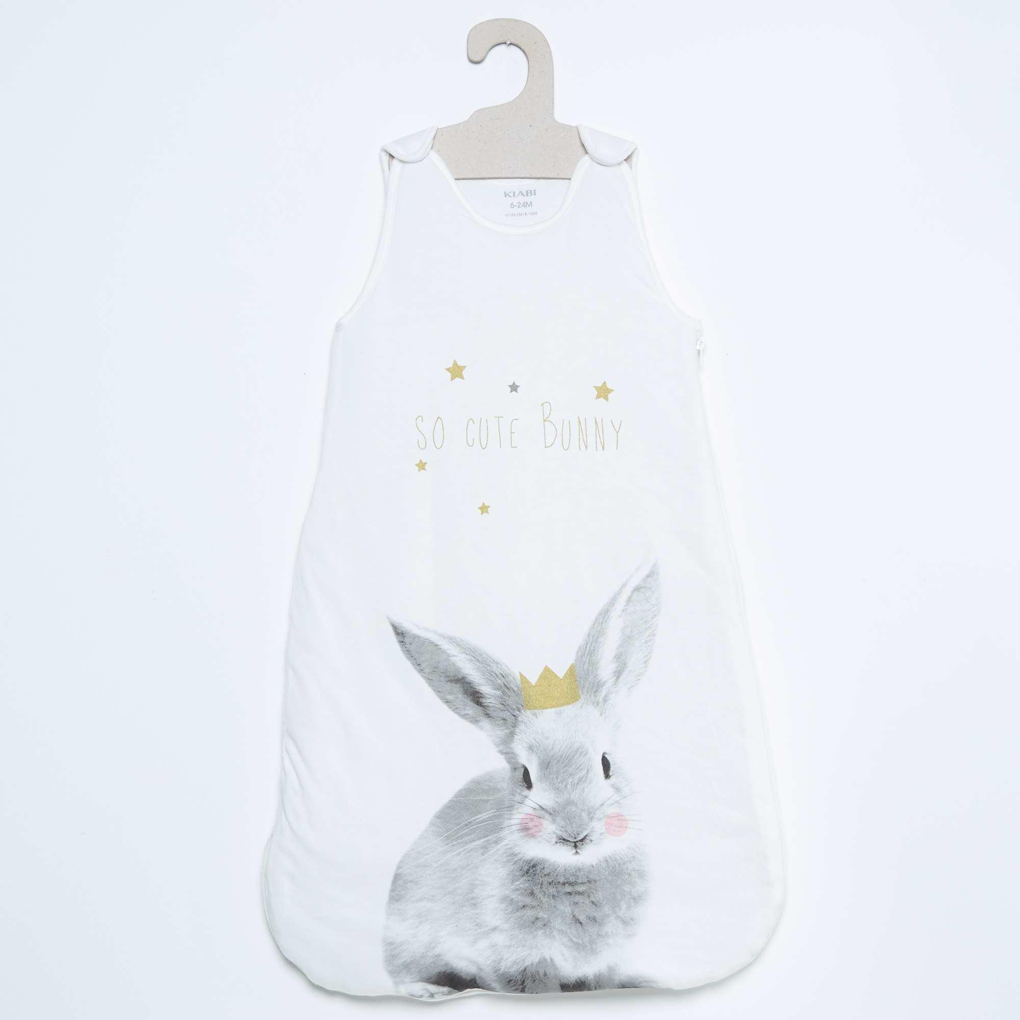 Couleur : ours, chat, pingouin,lapin, - Taille : 0/6M, , ,,Confortable pour bébé et pratique pour les parents. 2 tailles en 1 : le bas se rabat et