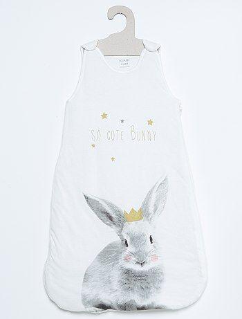 Gigoteuse en jersey imprimé 'lapin' - Kiabi