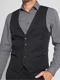 Manteau, veste - Gilet de costume slim - Kiabi
