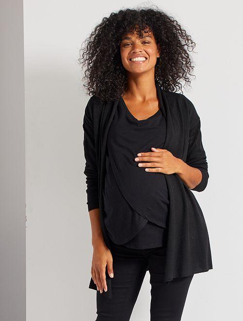 Gilet de maternité                                                     noir