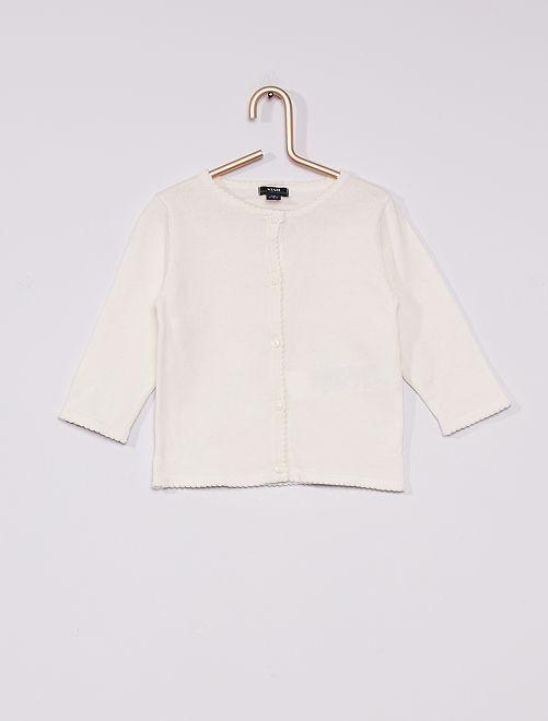 Gilet éco-conçu                                                                             blanc