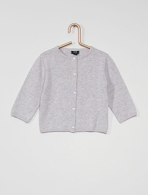 Gilet éco-conçu                                                                                                                                         gris