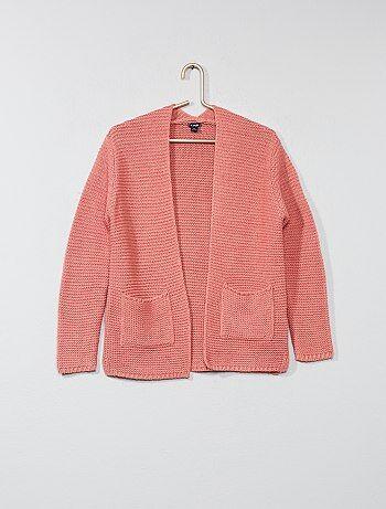 Soldes gilet fille - gilets pour jeunes filles à la mode Fille   Kiabi fe635155b831