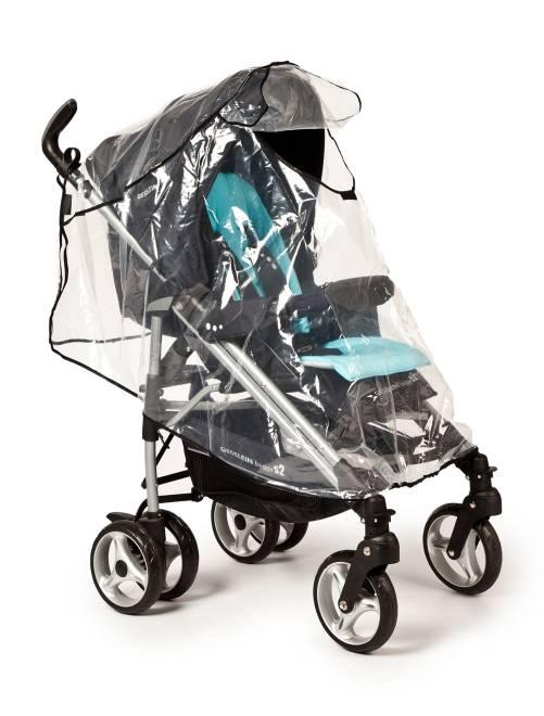 Habillage pluie en plastique transparent Bébé fille - transparent - Kiabi - 10,00€