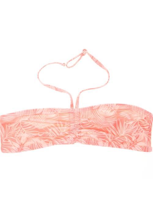 Haut de maillot de bain bandeau twisté                                                                                         rose Fille adolescente