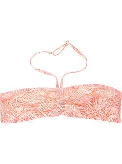 Maillot de bain, plage - Haut de maillot de bain bandeau twisté - Kiabi
