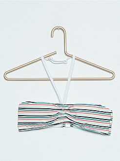 Maillot de bain, plage - Haut de maillot de bain forme bandeau