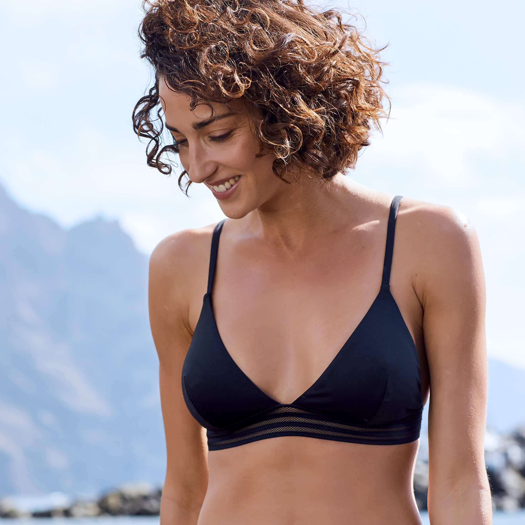 bfa0258c76 Haut de maillot de bain triangle Femme - Kiabi - 4,00€