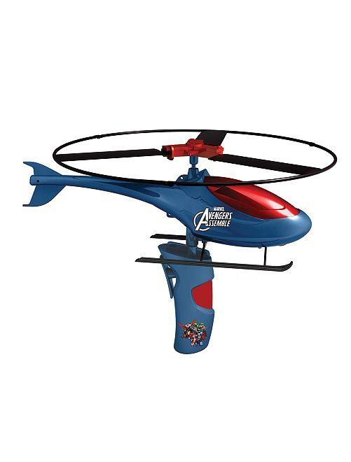 Hélicoptère à propulsion 'Avengers'                             bleu/rouge