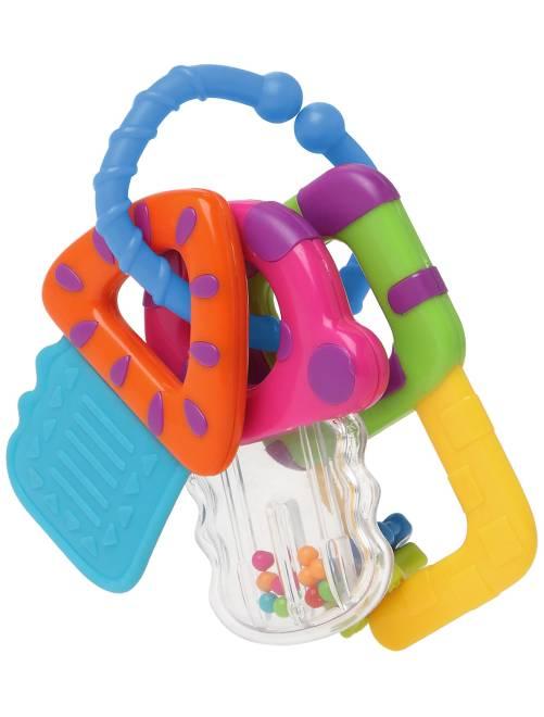 Hochet avec anneaux de dentition                             multicolore Bébé garçon