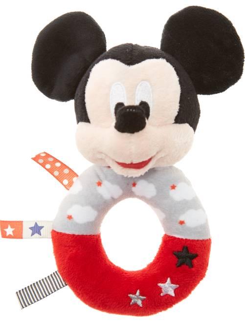 Hochet en peluche 'Mickey'                                         Mickey
