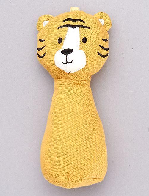 Hochet tigre                                         jaune
