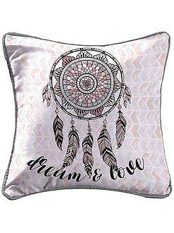 Déco textile - Housse de coussin fantaisie 'dreamcatcher'