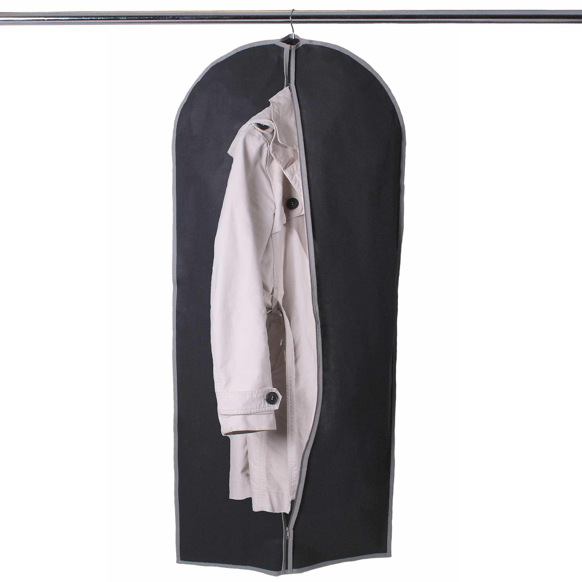 housse de rangement suspendre gris linge de lit kiabi. Black Bedroom Furniture Sets. Home Design Ideas
