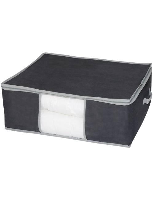 Housse de rangement                             gris Linge de lit