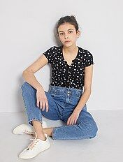 Vêtements ado fille jean, chaussures, pull, sweat rayons