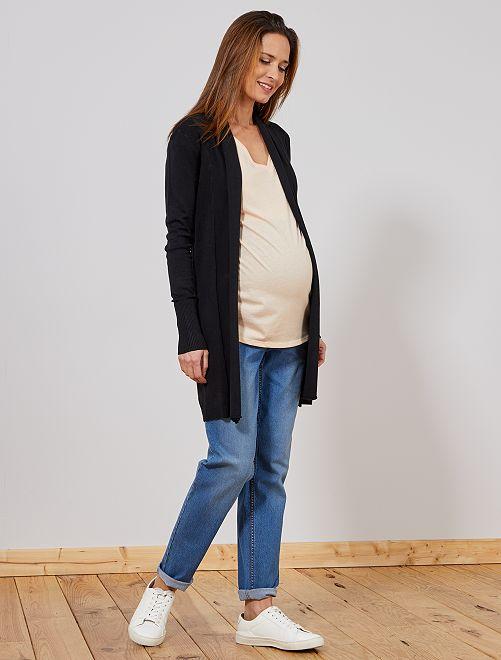 Jean boyfriend de maternité                             bleu Vêtement de grossesse