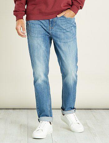 Soldes jean homme pas cher, jean slim, skinny ou regular - mode ... 6aace06184db