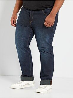 Grande taille homme Jean comfort 5 poches