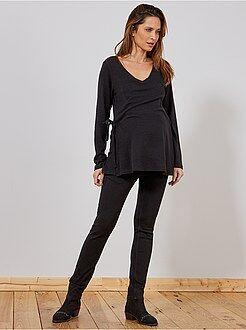Vêtements de grossesse - Jean de grossesse slim stretch