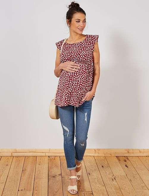 Jean de maternité slim fit                                         stone Vêtement de grossesse