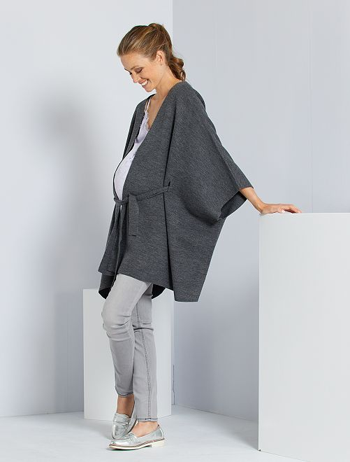 Jean de maternité super skinny                                                     gris