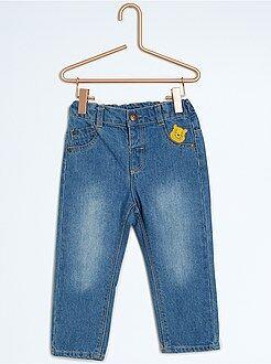 Pantalon, jean, legging - Jean en coton 'Winnie l'Ourson'