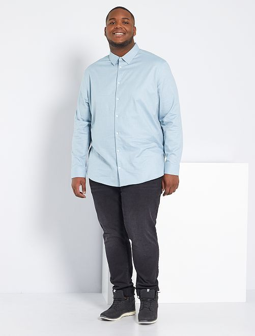 Jean fitted éco-conçu                                                                             anthracite