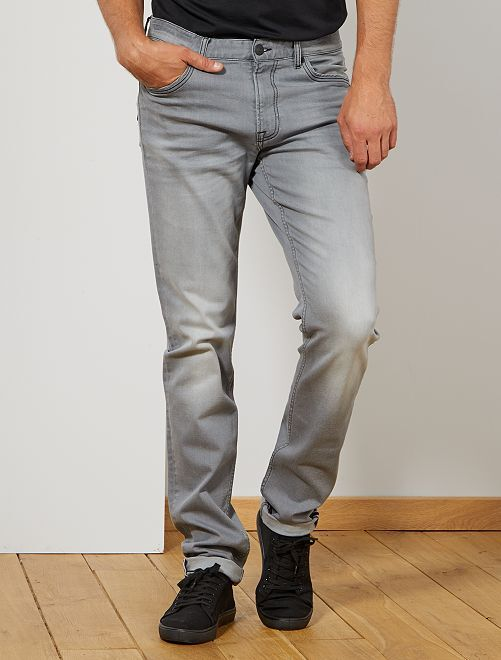 Jean fitted L36 +1m90                             gris