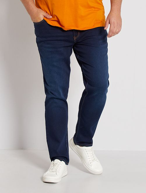 Jean fitted stretch                                                     brut Grande taille homme