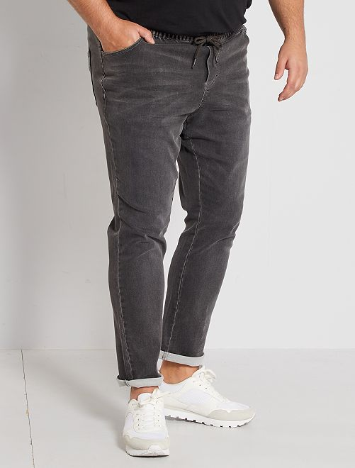 Jean fitted stretch                                                     gris