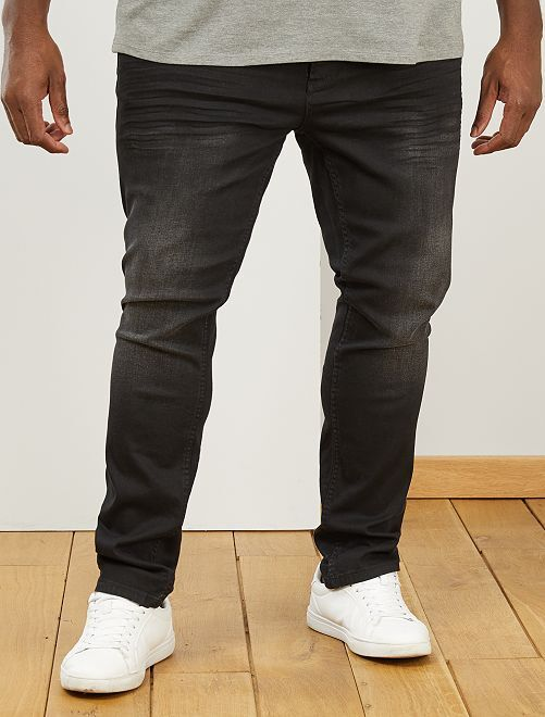 Jean fitted stretch                             noir