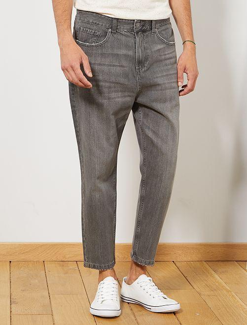 Jean loose                                         gris