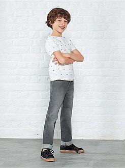 Jean regular - Jean regular 5 poches - Kiabi