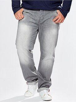 Grande taille homme Jean regular 5 poches