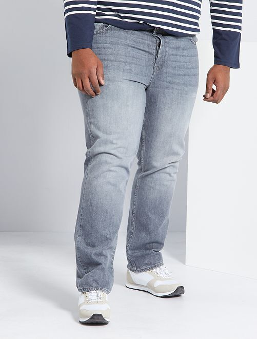 Jean regular 5 poches L32                                                                 gris