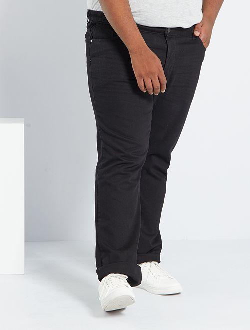 Jean regular 5 poches L32                                                                 noir